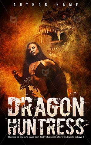 Horror-book-cover-hunter-dragon-scary