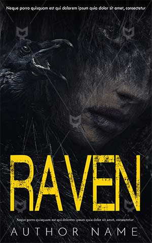 Horror-book-cover-scary-zombie-horror-raven