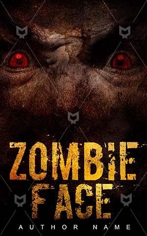 Horror-book-cover-scary-zombie-face