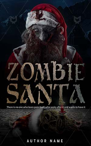 Horror-book-cover-scary-zombie-santa