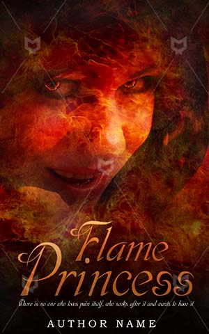 Horror-book-cover-flame-queen-scary