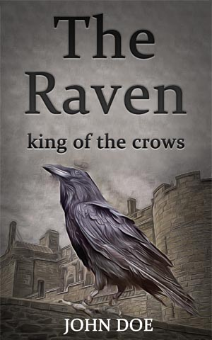Horror-book-cover-raven-crows-king-fiction