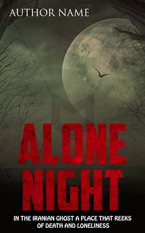 Horror-book-cover-moon-scary-jungle-halloween