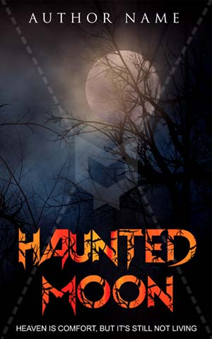 Horror-book-cover-scary-night-alone-ghost-Haunted-moon-halloween