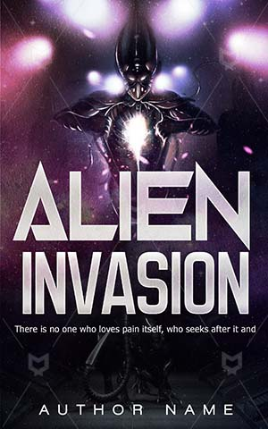 Horror-book-cover-Alien-Aliens-Invasion-Illustration-Space-Dangerous-Dark-Book-design-horror-Fear-Invaders