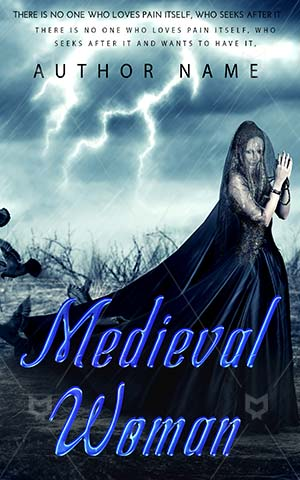 Horror-book-cover-Birds-Medieval-Beautiful-Girl-Thunder-Evil-Halloween-Magician-Lightning-Witch-Scary-Fantasy-Woman