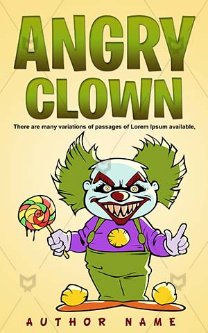 Horror-book-cover-Cartoon-Scary-clown-smile-Clown-Killer-books-Vector-Evil-Pictures-of-cartoon-scary-clowns