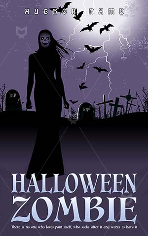 Horror-book-cover-Woman-ghost-Thunderbolt-Midnight-covers-Zombie-woman-Halloween-nights-Twilight