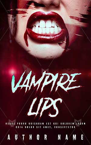 Horror-book-cover-Drink-Blood-Vampire-Woman-Scary-Fantasy-Halloween-Spooky-Anger-Red-Lips