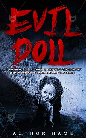 Horror-book-cover-Evil-Baby-doll-Dark-covers-Danger-Scary-Shadows-Toy-Doll-Zombie-Halloween-Hunted