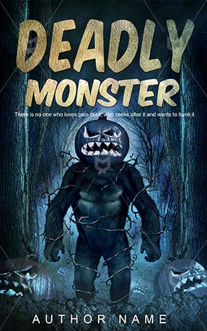 Horror-book-cover-Evil-Halloween-Monster-Dark-Deadly-Frightening-Scary-covers-Night-Creature