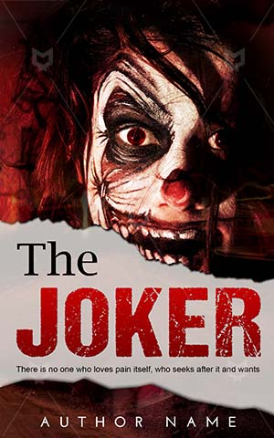 Horror-book-cover-Face-Clown-Halloween-stories-Scary-clown-Evil-Picture-of-monster-design-face