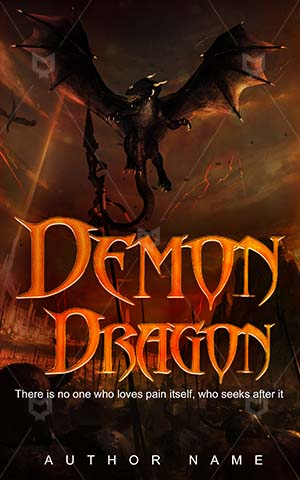 Horror-book-cover-Fantasy-Dragon-covers-Animal-Magic-Monster-Book-design-horror-Demon-Angry