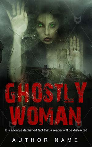 Horror-book-cover-Female-Fantasy-Ghostly-Ghost-design-Halloween-Woman-Scary-stories