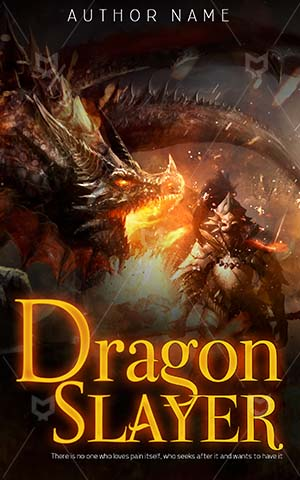 Horror-book-cover-Fighting-dragon-Dragon-Slayer-covers-Knight-Fight-Brave-Imagination-Fantasy-Strong-King-Warrior