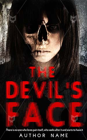 Horror-book-cover-Girl-Face-Scary-Ghost-Head-design-Death-Evil-Spooky-Mental-Devil-Haunted-Skeleton-Nightmare-Witch