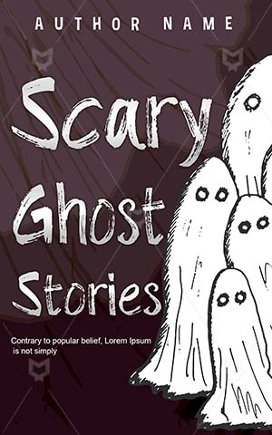 Horror-book-cover-Halloween-Ghost-design-Scary-Stories-Illustration-story-Dark-Creepy-Spooky