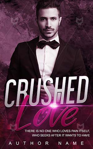 Horror-book-cover-Man-Crushed-Romance-design-Love-handsome-man-businessman