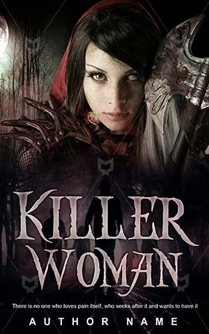 Horror-book-cover-Red-Girl-Dark-Killer-covers-Warrior-Woman-Fairy-Horrorbook-Scary-Power