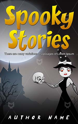 Horror-book-cover-Scary-Halloween-Stories-covers-Vector-Skull-Spooky-Weird-Evil-Witch-Haunted