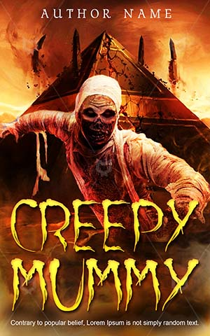 Horror-book-cover-Scary-Mummy-Desert-Monster-Creepy-Evil-Egypt-Halloween-stories-Undead-Zombie-Dead