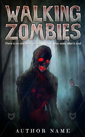 Horror-book-cover-Walking-Walk-Zombie-Zombies-ideas-Dangerous-Dark-Death-Evil-Woods-Monster-Spooky-Devil-Demon