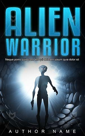 Horror-book-cover-Warrior-Alien-Space-Dark-covers-Scary-Spaceship-Ufo-Monster