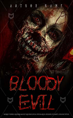 Horror-book-cover-Zombie-Killer-Woman-Book-Cover-Undead-Halloween-Design-Best-Covers