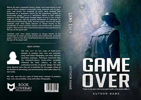 photograph about Printable Game Covers identified as Thrillers E-book address Structure - Recreation About