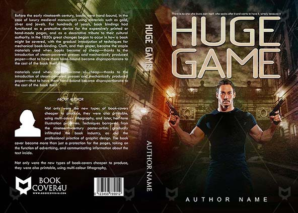 image about Game Covers Printable named Thrillers Guide protect Style and design - Massive Match