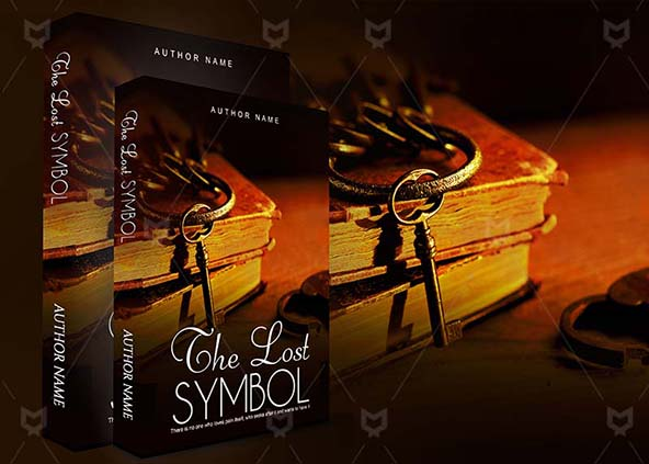 Fantasy Book Cover Design The Lost Symbol