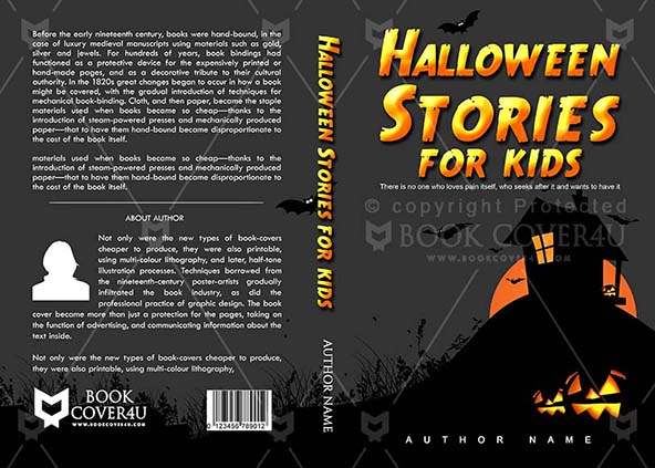 Kindle Book Cover Design Service : Children book cover design halloween stories for kids