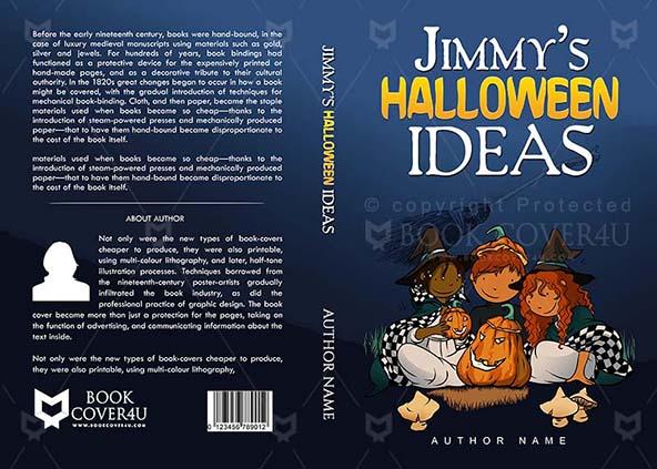 Halloween Book Cover Ideas : Children book cover design jimmys halloween ideas