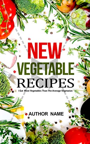 Book cover designs premade and custom book covers nonfiction book cover recipes cookbook vegetable forumfinder Images