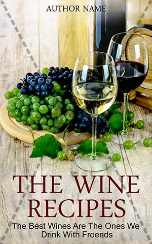 Nonfiction-book-cover-wine-recipes-food
