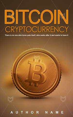 Nonfiction-book-cover-Bitcoin-Gold-Money-Vector-Cryptocurrency-Market-Non-fiction-Global-Pay