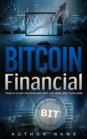 Nonfiction-book-cover-Financial-Concept-Bit-Coin-Money-Bitcoin-Commerce-Economy-Non-fiction-Finance