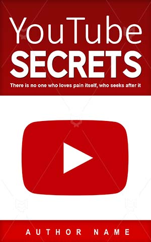 Nonfiction-book-cover-Play-Button-Red-Youtube-Icon-Web-Tube-Non-fiction-covers-Symbol-Video