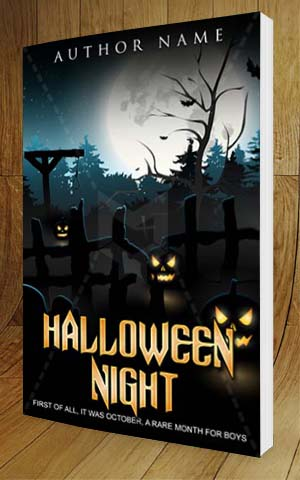 Charming ... Fantasy Book Cover Design Halloween Night 3D
