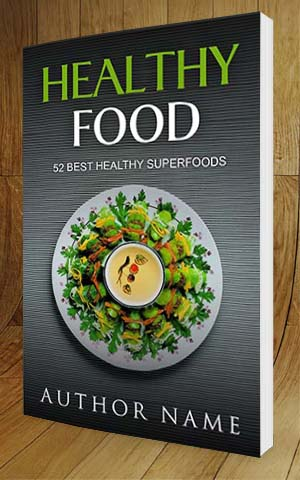 Nonfiction book cover design healthy food nonfiction book cover design healthy food 3d forumfinder Choice Image