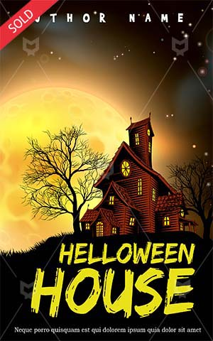 Romance-book-cover-halloween-haunted-house-party-moon-scary