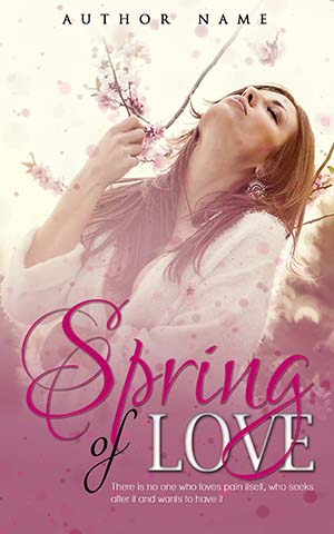 Pictures Of Pretty Book Covers ~ Romance book cover design spring of love