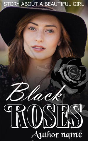 Romance-book-cover-love-story-girl-beautiful-black-roses-fiction