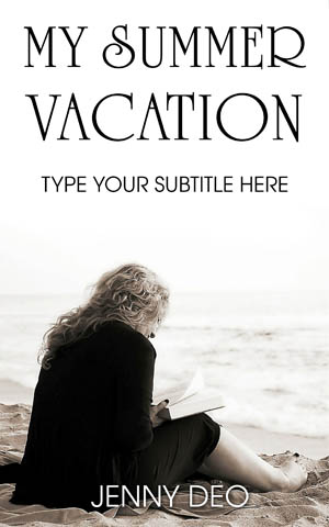 Romance-book-cover-summer-beach-women-vacation