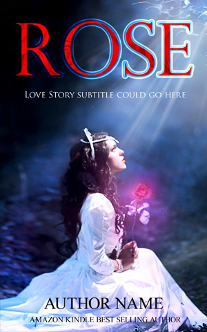 Romance-book-cover-rose-girl-love-alone