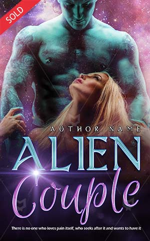 Romance-book-cover-Alien-touch-Couple-Love-Together-Shirtless-Modern-Expression-Romantic-romance-Sensuality-Life