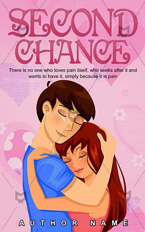 Romance-book-cover-Couple-Hugging-Hug-for-Second-Beautiful-Woman-Cartoon-Book-romance-Vector-Romantic