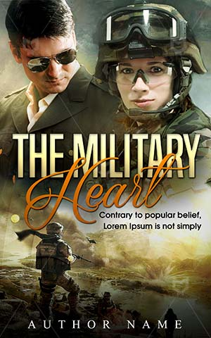 Romance-book-cover-Man-Military-Armed-Forces-Heart-Book-design-love-Couple-in-Love-ebook-Affection