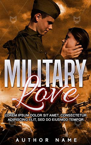 Romance-book-cover-Military-Couple-Affection-Soldier-Emotional-Love-Relationship-Happy