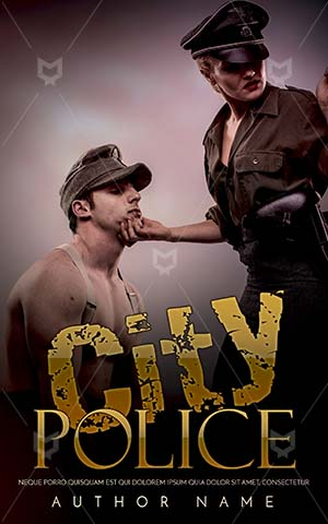 Romance-book-cover-Police-woman-Fake-Book-Covers-Gangster-Woman-Cover-Design